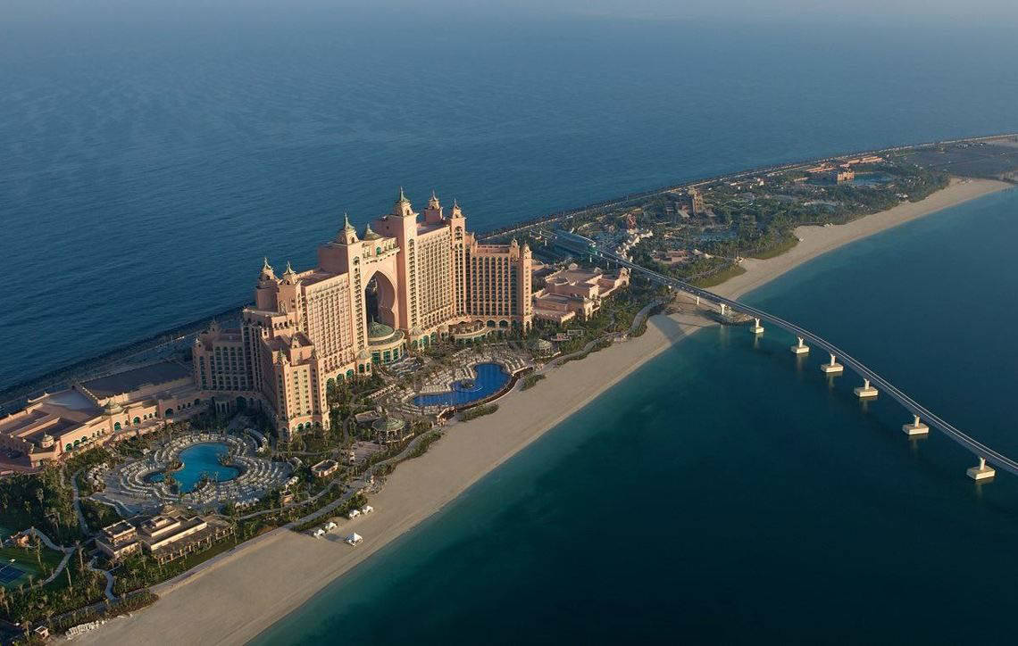 Dubai Dubai-Strand Atlantis the Palm