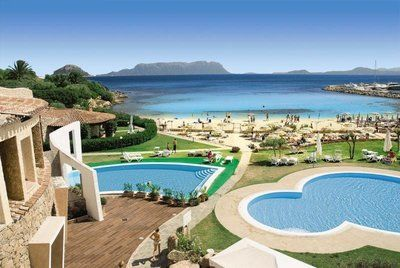 Sardinien Golfo Aranci Hotel Resort und Spa Baia Caddinas